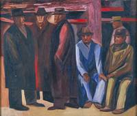 José Clemente Orozco~SubwayWorkers (The Unemployed