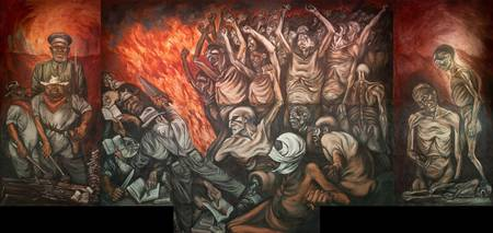 José Clemente Orozco~The People and their False Le