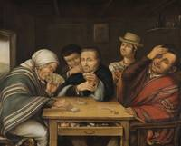 José Manuel Groot (1800 - 1878)~The Card Players'