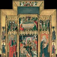 Juan Rexach~Altarpiece of the Epiphany