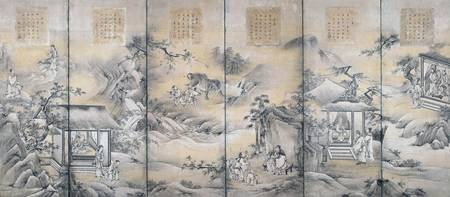 Kano Eitoku~Twenty-four Paragons of Filial Piety -