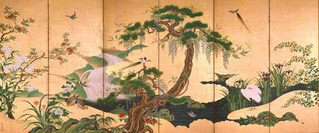 Kanō Einō~Birds and Flowers of Spring and Summer