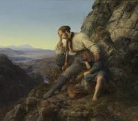 Karl Friedrich Lessing~The Robber and His Child