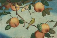 Kobayashi Kiyochika~Persimmons and White-Eyes