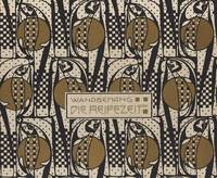 Koloman Moser~Time of Ripening design for a wall h