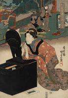 Kunisada~Act VI from the series Matched Pictures f