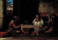 Lawrence Alma-Tadema~Chess Players