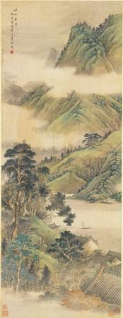 Li Yaoping~Ancient temple among mountains and vall