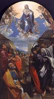 Lodovico Carracci~The Assumption of the Virgin