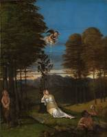 Lorenzo Lotto~Allegory of Chastity