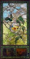 Louis Comfort Tiffany, Tiffany & Co.~Parakeets and