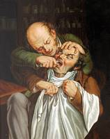 Louis-Léopold Boilly~U zubara At the dentist