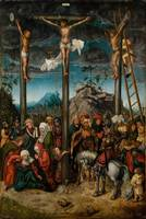 Lucas Cranach the Elder~The Crucifixion