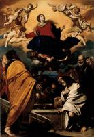 Massimo Stanzione~The Assumption of the Virgin