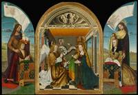 Master of the Latour d'Auvergne Triptych~The Annun