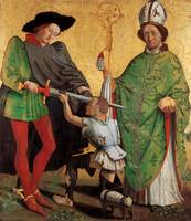 Master of Uttenheim~St Martin of Tours and St Nich