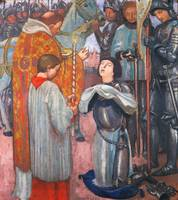 Maurice Denis~The Communion of Joan of Arc