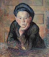 Maximilien Luce~Portrait of a Boy