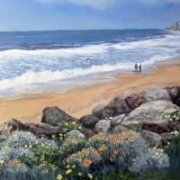 California Dreaming Art Prints & Posters by Mary Palmer