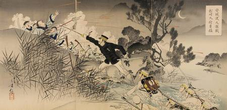 Artist Mizuno Toshikata~The Great Battle of the An
