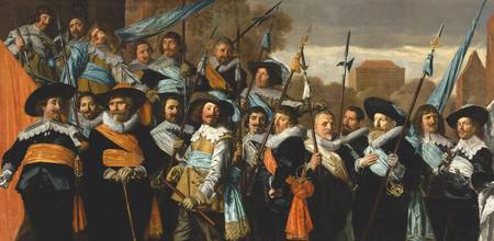 Frans Hals~Officers and Sergeants of the St George