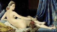 Jean Auguste Dominique Ingres ~ The Grand Odalisqu