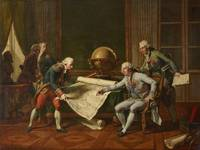 Nicolas-Andre Monsiau~Louis XVI gives his instruct