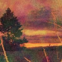 November Sunrise Impression One by Faye Cummings