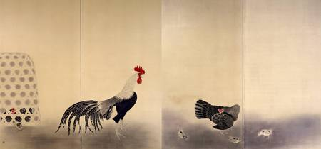 Omoda Seiju~Crowing Rooster
