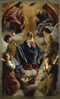 Orazio Gentileschi~Our Lady of the Assumption