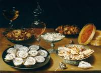 Osias Beert the Elder~Dishes with Oysters, Fruit,