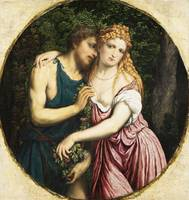Paris Bordone~Mythological Couple (Daphnis and Chl