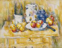Paul Cezanne~Still Life with Apples on a Sideboard