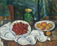 Paul Cézanne~Still Life With Cherries And Peaches