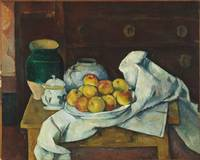 Paul Cézanne~Still Life with Commode