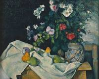 Paul Cézanne~Still Life with Flowers and Fruit