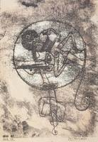 Paul Klee~The One in Love, from the Masters' Portf
