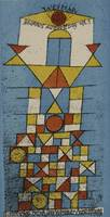 Paul Klee~The Sublime Side (Bauhaus postcard no. 4