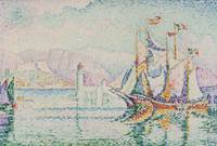 Paul Signac~Antibes. Morning