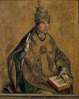 Pedro Berruguete~Saint Gregory the Pope
