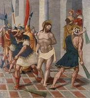 Pere Serafí~Flagellation of Christ