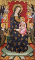 Pere Serra~Virgin of the Angels