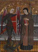 Pere Vall (Spanish, 1380-1480)~St. Michael and St.