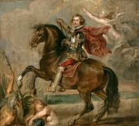 Peter Paul Rubens~Equestrian Portrait of the Duke