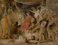Peter Paul Rubens~The Triumph of Rome The Youthful
