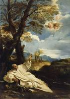 Pier Francesco Mola~The Vision of Saint Bruno