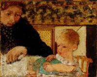 Pierre Bonnard~Grandmother with a Child