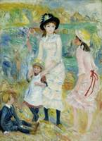 Pierre-Auguste Renoir~Children on the Seashore, Gu