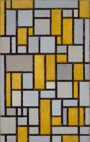 Piet Mondrian~Composition with Grid #1