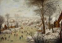 Pieter Brueghel the Younger~Winter Landscape with